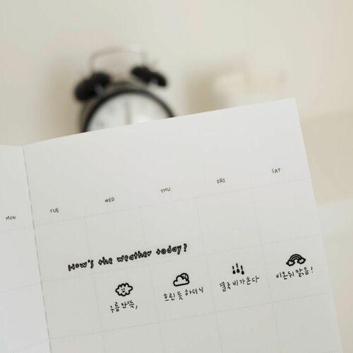 Mini Today's Weather Deco Sticker
