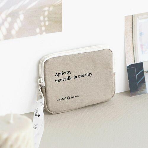 Apricity Cotton Card Pouch