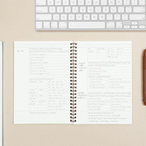 Basic A5 Spiral Notebook