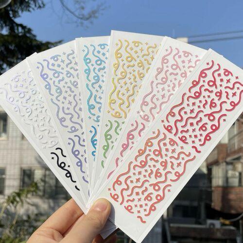 Hologram Doodle Slim Sticker