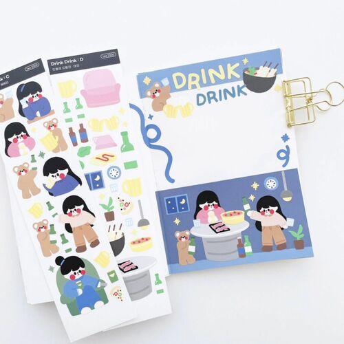 Home Bar Slim Sticker