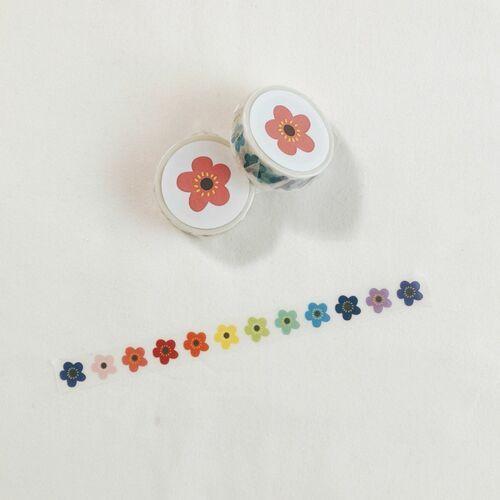 Signature Flower Masking Tape