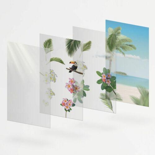 Tropical Day Layered Sticker Set