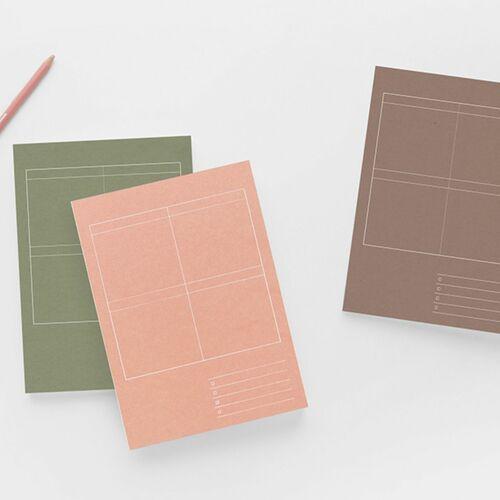 Large 8 Steps Notebook