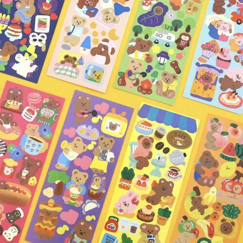 Juicy Bear Removable Slim Sticker v1