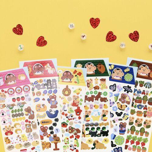 Juicy Bear Removable Slim Sticker v5
