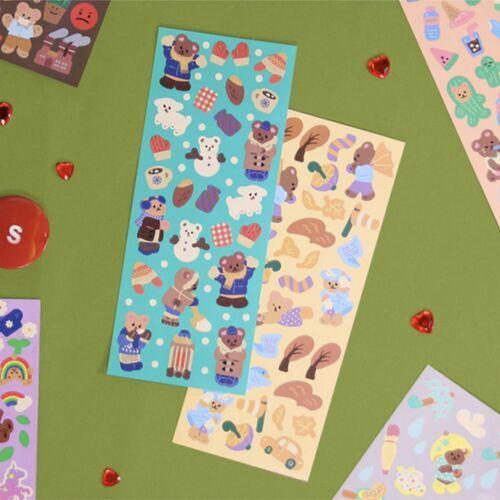 Juicy Bear Removable Slim Sticker v7