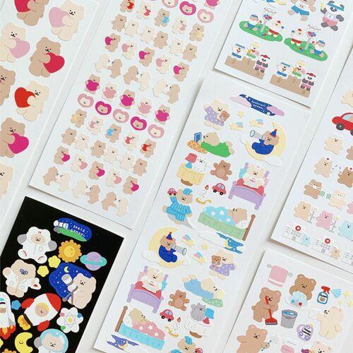 RoomRoom Bear Sticker v2