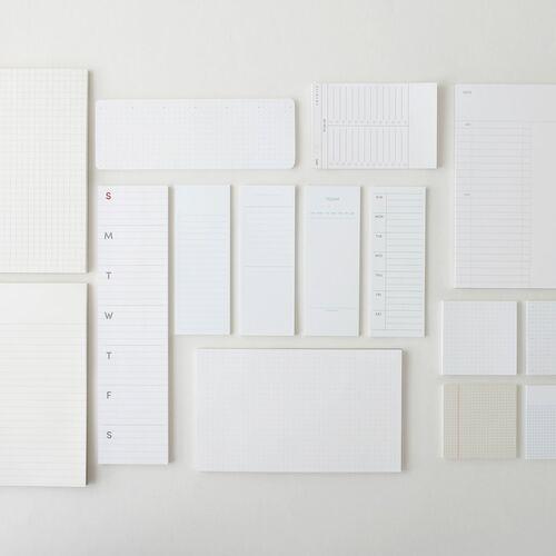 Slim Schedule Sticky Note v1