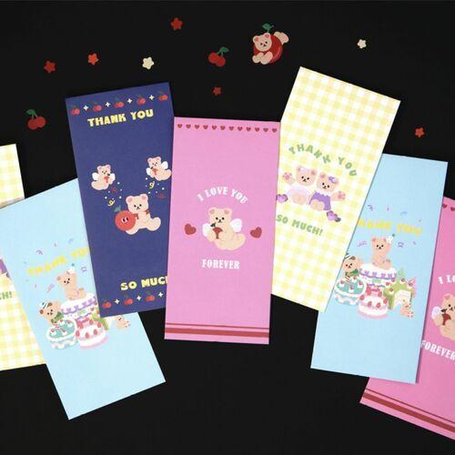 Juicy Bear Gift Envelope Set