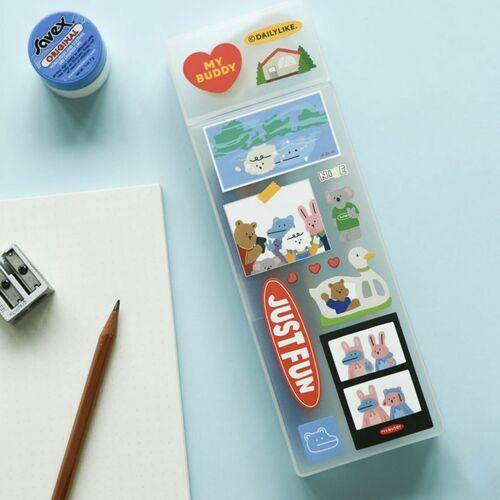 My Buddy Pen Case & Sticker Set