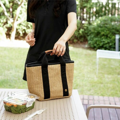 Medium Rattan Cooler Bag