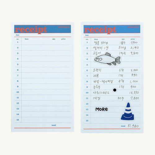 Small Life&Pieces Themed Notepad
