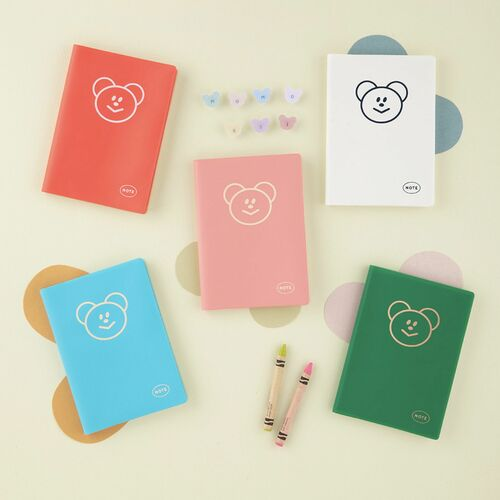 Colorful Bear Monthly Planner