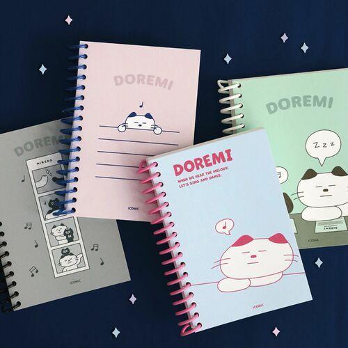 Doremi A6 Spiral Notebook