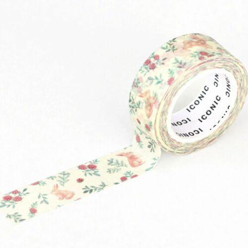 Flower Themed Masking Tape