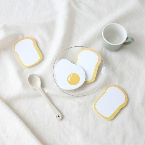 Fried Egg & Toast Sticky Note
