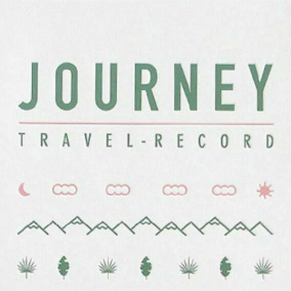 Travel Record Notebook