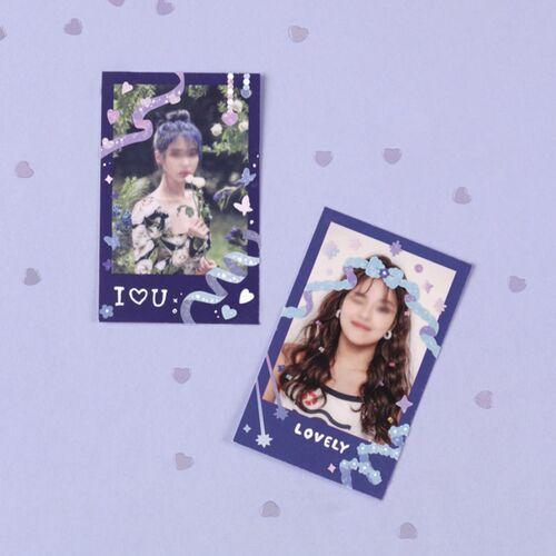 Lovey Dovey Hologram Deco Sticker v2