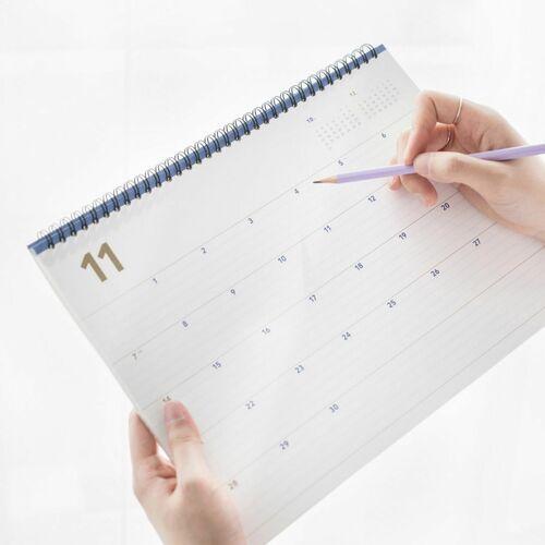 2022 Wide Basic Desk Monthly Planner