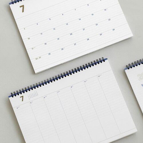 2022 Wide Basic Desk Weekly Planner
