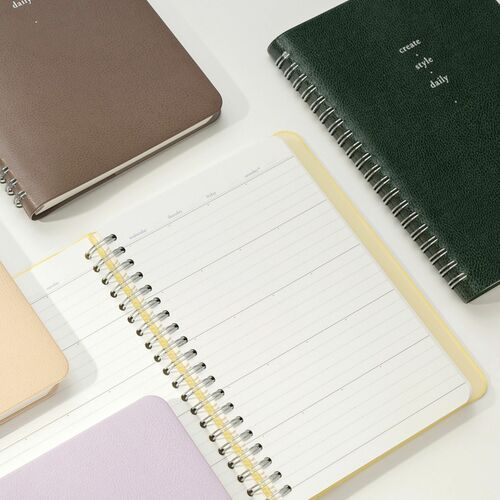Small 6 Month Daily Manager Planner