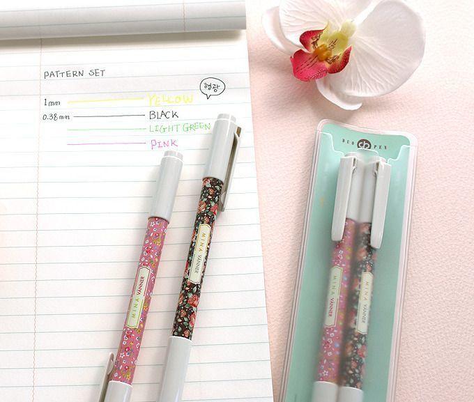 Dual Pattern Pen Set