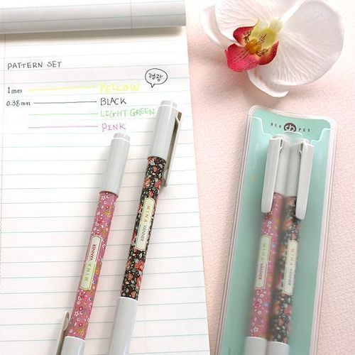 Dual Pattern Pen Set