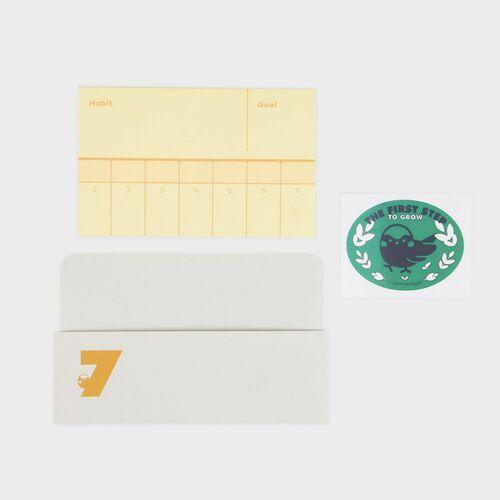 7 days Habit Tracker Memo Pad