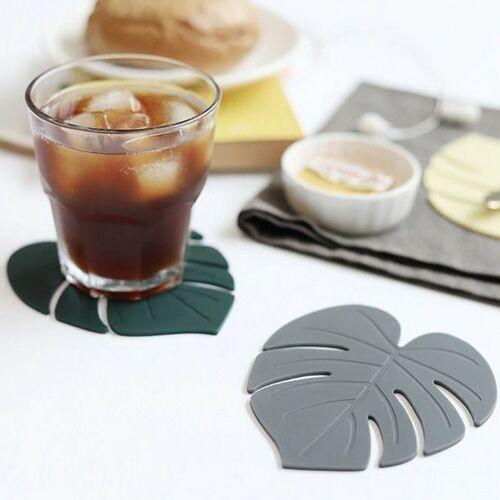 Monstera Silicone Tea Coaster