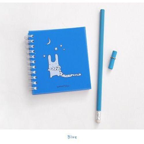 White Bunny Mini Notebook