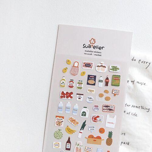 Market Deco Sticker
