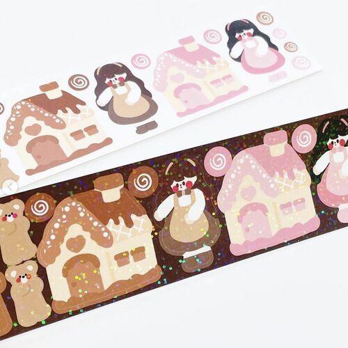 Cookie House Slim Sticker