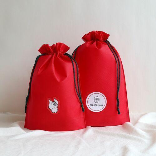 2pcs Holiday Drawstring Bag