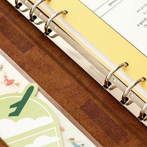 Simple Ash 6 Ring A5 Planner & Pen Set