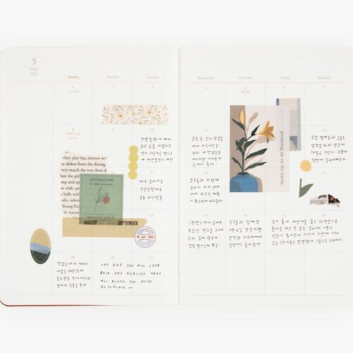 2022 Object Weekly Planner