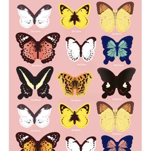 Butterfly Wall Deco Set