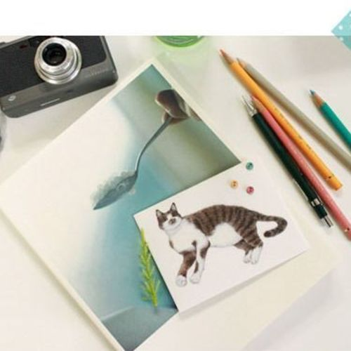 Cat Deco Sticker Set