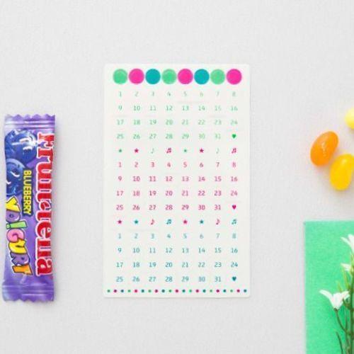 Date Sticker Set