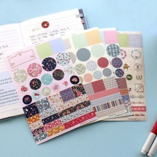 Pattern Deco Sticker Set v3