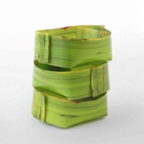 Small Banana Leaf Tray Set