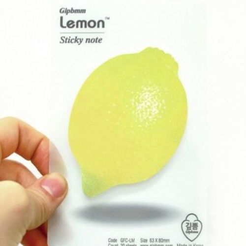 Lemon Sticky Note