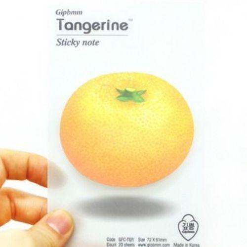 Tangerine Sticky Note