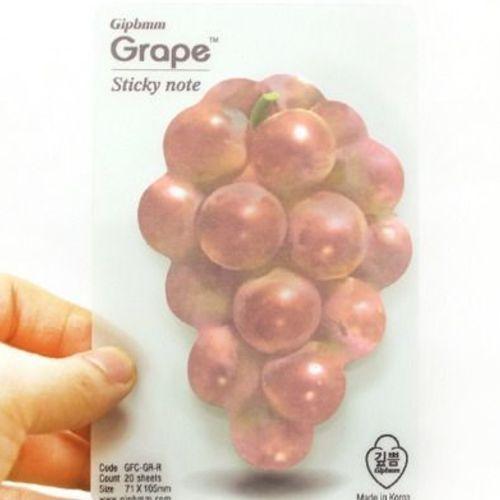 Red Grape Sticky Note