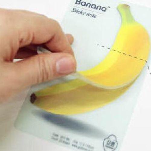 Banana Sticky Note