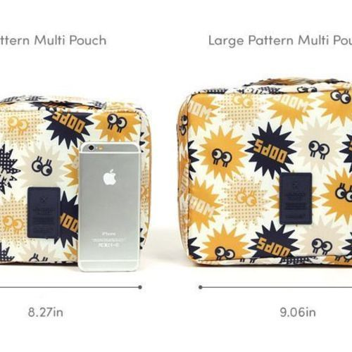 Pattern Multi Pouch
