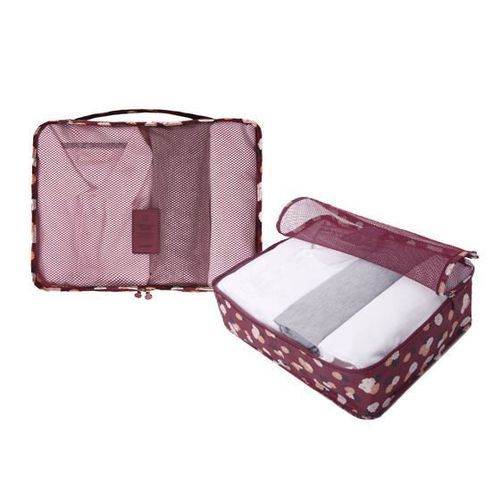 Large Pattern Luggage Bag