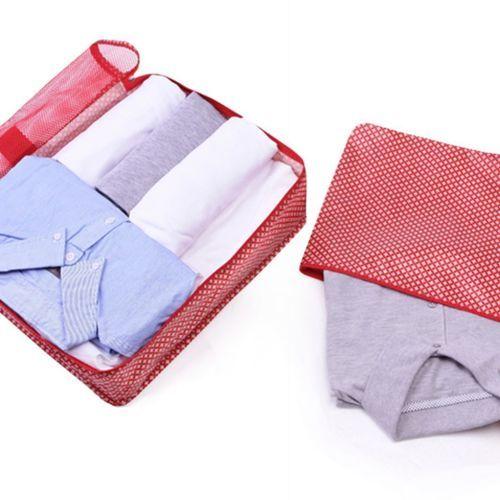 Large Pattern Luggage Bag