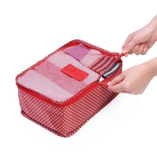 Small Pattern Luggage Bag