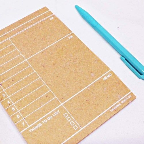 Kraft Daily Schedule Notepad